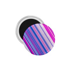 Line Obliquely Pink 1.75  Magnets