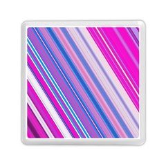 Line Obliquely Pink Memory Card Reader (square)