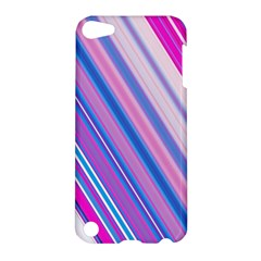 Line Obliquely Pink Apple iPod Touch 5 Hardshell Case