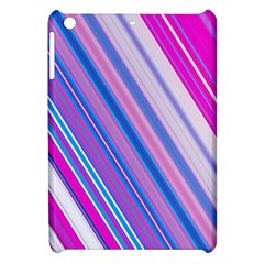 Line Obliquely Pink Apple iPad Mini Hardshell Case