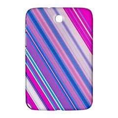 Line Obliquely Pink Samsung Galaxy Note 8.0 N5100 Hardshell Case