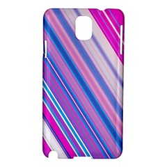 Line Obliquely Pink Samsung Galaxy Note 3 N9005 Hardshell Case
