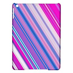 Line Obliquely Pink iPad Air Hardshell Cases