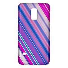 Line Obliquely Pink Galaxy S5 Mini