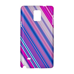 Line Obliquely Pink Samsung Galaxy Note 4 Hardshell Case