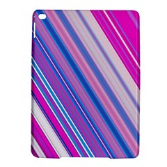 Line Obliquely Pink iPad Air 2 Hardshell Cases