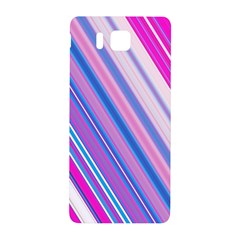 Line Obliquely Pink Samsung Galaxy Alpha Hardshell Back Case