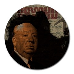 Alfred Hitchcock - Psycho  Round Mousepads