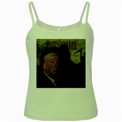 Alfred Hitchcock - Psycho  Green Spaghetti Tank