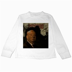 Alfred Hitchcock - Psycho  Kids Long Sleeve T-Shirts