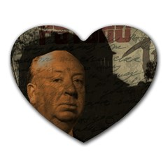Alfred Hitchcock - Psycho  Heart Mousepads