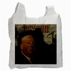 Alfred Hitchcock - Psycho  Recycle Bag (One Side)