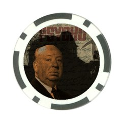Alfred Hitchcock - Psycho  Poker Chip Card Guard (10 pack)