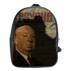 Alfred Hitchcock - Psycho  School Bags (XL)