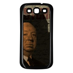 Alfred Hitchcock - Psycho  Samsung Galaxy S3 Back Case (Black)