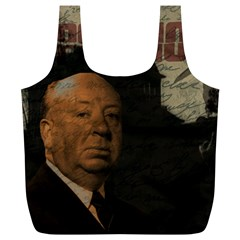 Alfred Hitchcock - Psycho  Full Print Recycle Bags (L)