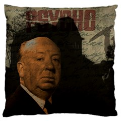 Alfred Hitchcock - Psycho  Large Flano Cushion Case (One Side)