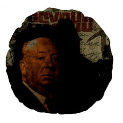 Alfred Hitchcock - Psycho  Large 18  Premium Flano Round Cushions