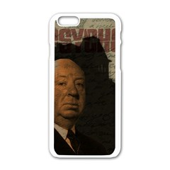 Alfred Hitchcock - Psycho  Apple iPhone 6/6S White Enamel Case