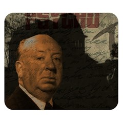 Alfred Hitchcock - Psycho  Double Sided Flano Blanket (Small)