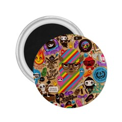 Background Images Colorful Bright 2.25  Magnets