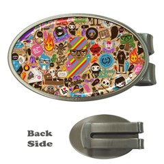 Background Images Colorful Bright Money Clips (oval)