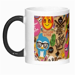 Background Images Colorful Bright Morph Mugs