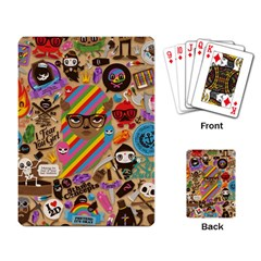 Background Images Colorful Bright Playing Card