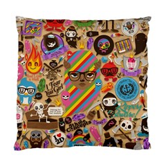 Background Images Colorful Bright Standard Cushion Case (one Side)