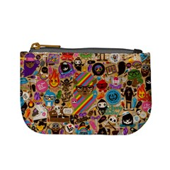 Background Images Colorful Bright Mini Coin Purses