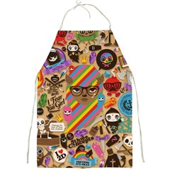 Background Images Colorful Bright Full Print Aprons