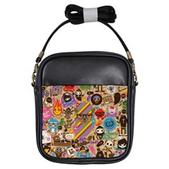 Background Images Colorful Bright Girls Sling Bags