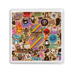 Background Images Colorful Bright Memory Card Reader (square)