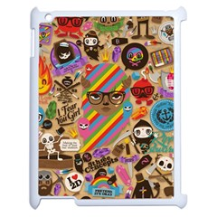 Background Images Colorful Bright Apple iPad 2 Case (White)