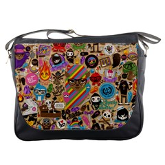 Background Images Colorful Bright Messenger Bags