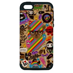 Background Images Colorful Bright Apple iPhone 5 Hardshell Case (PC+Silicone)