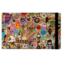 Background Images Colorful Bright Apple iPad 3/4 Flip Case