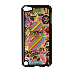 Background Images Colorful Bright Apple iPod Touch 5 Case (Black)