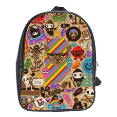 Background Images Colorful Bright School Bags (XL)