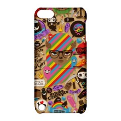 Background Images Colorful Bright Apple iPod Touch 5 Hardshell Case with Stand