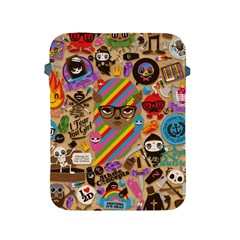 Background Images Colorful Bright Apple iPad 2/3/4 Protective Soft Cases