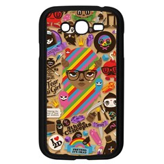 Background Images Colorful Bright Samsung Galaxy Grand DUOS I9082 Case (Black)