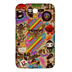 Background Images Colorful Bright Samsung Galaxy Tab 3 (7 ) P3200 Hardshell Case