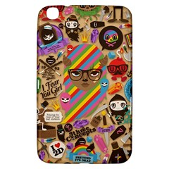 Background Images Colorful Bright Samsung Galaxy Tab 3 (8 ) T3100 Hardshell Case