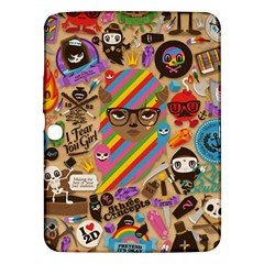 Background Images Colorful Bright Samsung Galaxy Tab 3 (10.1 ) P5200 Hardshell Case