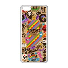 Background Images Colorful Bright Apple iPhone 5C Seamless Case (White)