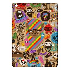 Background Images Colorful Bright iPad Air Hardshell Cases