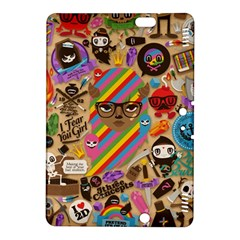 Background Images Colorful Bright Kindle Fire HDX 8.9  Hardshell Case