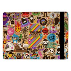 Background Images Colorful Bright Samsung Galaxy Tab Pro 12.2  Flip Case