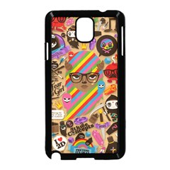 Background Images Colorful Bright Samsung Galaxy Note 3 Neo Hardshell Case (Black)